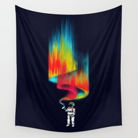 astronomy Wall Tapestries featuring Space vandal by Picomodi