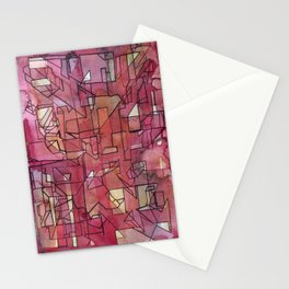 raspberries (archigraph series #3) Stationery Cards