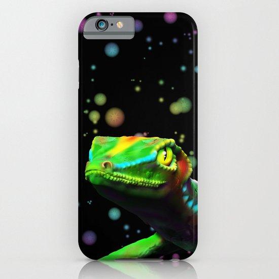 Gecko Lizard Close up 3d digital Art iPhone & iPod Case