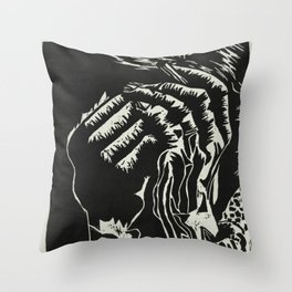 Exhale, Inhale Throw Pillow