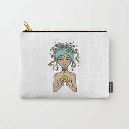 Snake Goddess Carry-All Pouch