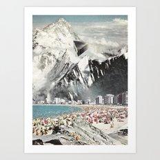 magnetic winter Art Print