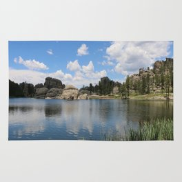 Sylvan Lake in the Black Hills Rug