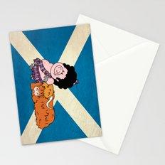 The highlander Stationery Cards
