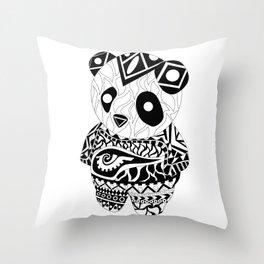 Panda Ecopet Throw Pillow