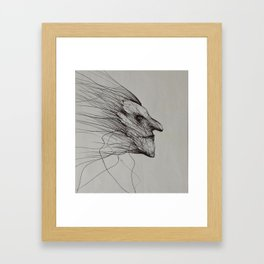 Dark fantasy/horror artwork by Gareth Walsh Framed Art Print