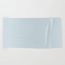 Spaceship Earth Triangles Beach Towel