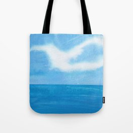 White Dove Sky Tote Bag