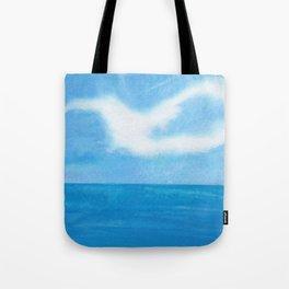 White Dove Sky Tote Bag