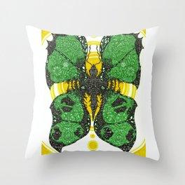 Comfort in the Final Flutter Throw Pillow