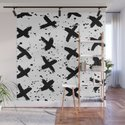 X Paint Spatter Black and White by followmeinstead