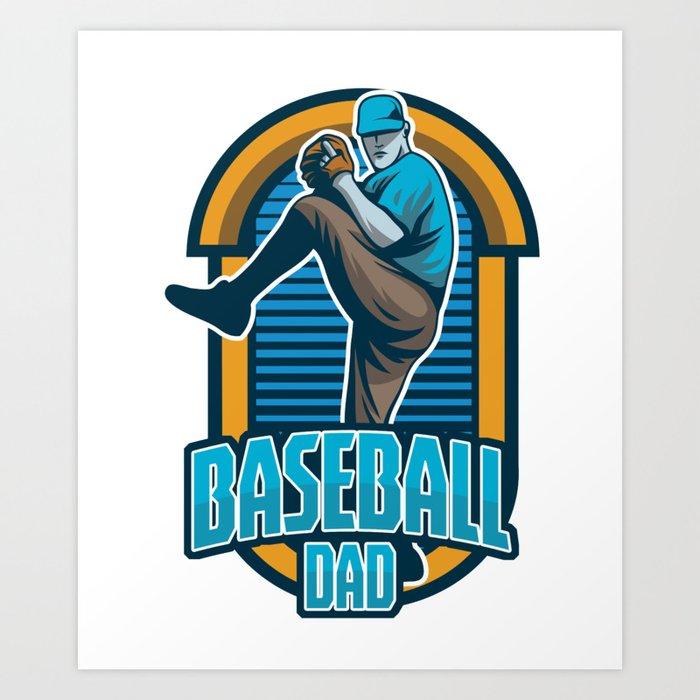 Baseball Dad Pitcher Softball Players