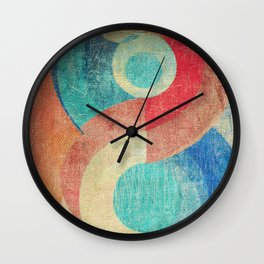 Yin Yang and Something More Wall Clock