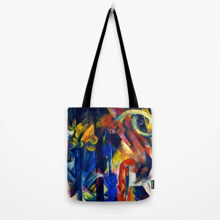 "Franz Marc ""Forest with squirrel"" Tote Bag"