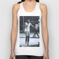 childish gambino Tank Tops featuring gambino can sing (Childish Gambino) by bryantwashere