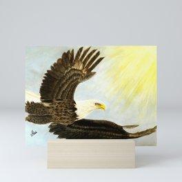 Soaring Eagle Wings Mini Art Print