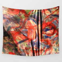 Keep Yourself From Blowing Up Wall Tapestry