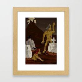 Zombies Framed Art Print