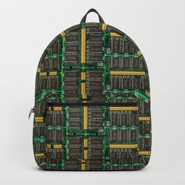 Computer memory modules background Backpack