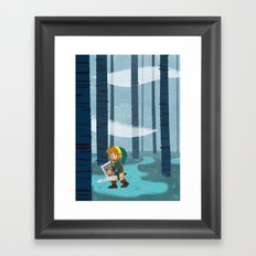 The Lost Woods Framed Art Print