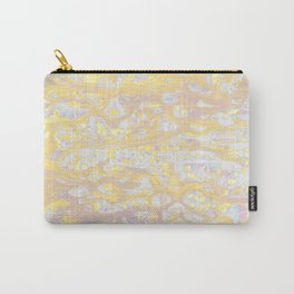 Baesic Wet Paint Gold Carry-All Pouch