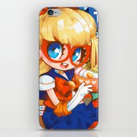 barachan iPhone & iPod Skins featuring v soba by barachan