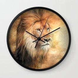 African King Wall Clock
