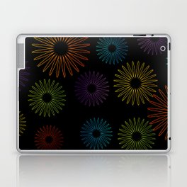 Colorful Christmas snowflakes pattern- holiday season gifts- Happy new year gifts Laptop & iPad Skin