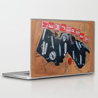new jersey Laptop & iPad Skins featuring NEW JERSEY by Christiane Engel