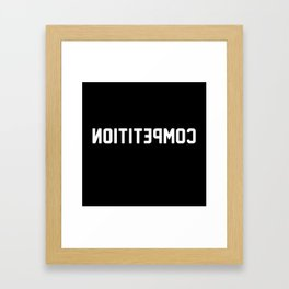 COMPETITION Framed Art Print