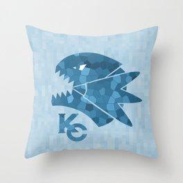 Kaiba Corp - BEWD Throw Pillow