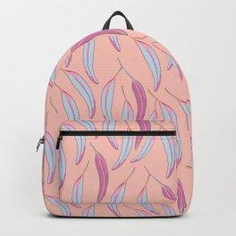 Peachy Leaves Backpack