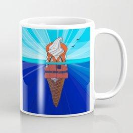Ice Cream Float at Sea Coffee Mug