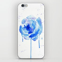 Something Blue iPhone Skin