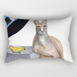 Kangaroo Rectangular Pillow