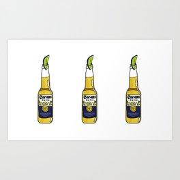 Summer of Corona Art Print