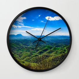 A place in heaven Wall Clock