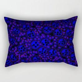 night of the dots Rectangular Pillow