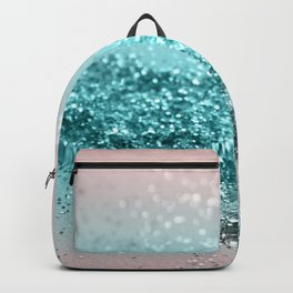 Tropical Summer Vibes Glitter #2 #decor #art #society6 Backpack
