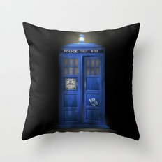 """Death – The Doctor's Truest Companion"" Throw Pillow"