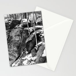A winter hike in Athens Stationery Cards