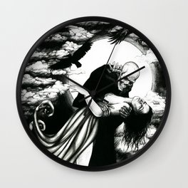 The dance of death Wall Clock