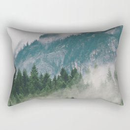 Vancouver Fog Rectangular Pillow