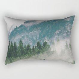 Vancouver Fog Rectangular Pillow