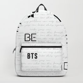 BE BTS  Backpack
