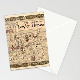 Baylor University 1939 Stationery Cards