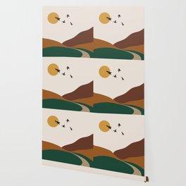 Abstract illustration wall art poster wall paper   Wallpaper