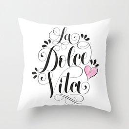Sweet life Throw Pillow