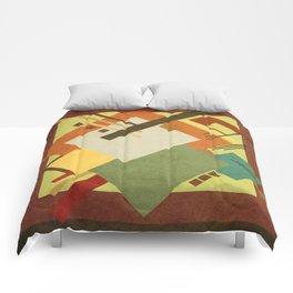 Geometric illustration 38 Comforters