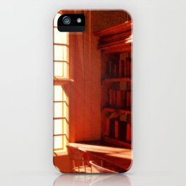 Oxford Library Render iPhone Case